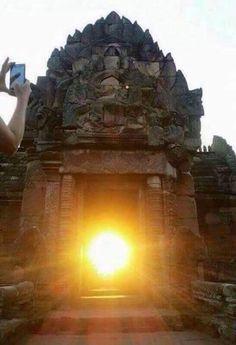 Once in 2000 years the Sun is seen inside the Konarak Temple