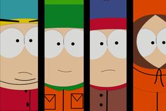 South Park - The Main Boys by Flip-Reaper-Z on deviantART