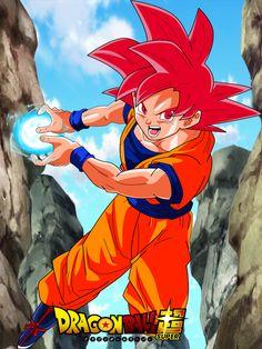 Goku y el SUPER SAIYAJIN DIOS fase 3 El Dios de pelo BLANCO