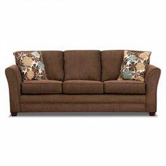 Alenya Charcoal Comtemporary Track Arm Queen Sofa