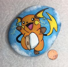 Stone Painting, Painting Art, Paintings, Weather Rock, Painted Rocks Kids, Caillou, Rock Painting Designs, Rock Design, Best Rock