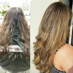 From drab to fab! #Cosmetology #HairColor #VisibleChanges #Salon #ColorSpecialist #transformation #beforeandafter #Hair #Follow #Balayage #Wella #Caremel http://tipsrazzi.com/ipost/1524414925454535040/?code=BUnz0xKBWmA