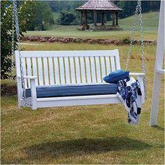 ... Porch Swing : patio backyard retreat garden bench garden decor porch