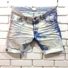Denim Clothing Company denim shorts development PV 2014 #denim #jeans #vintage…