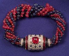 Art Deco Platinum, Diamond and Gem-set Bracelet | Sale Number 2261, Lot Number 561 | Skinner Auctioneers