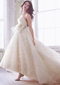 Jim Hjelm Wedding Dresses - The Knot Jim Hjelm Wedding Dresses, Wedding Gowns, Wedding Pinterest, Formal Gowns, Formal Dress, Beautiful Gowns, Bridal Style, Just In Case, Wedding Styles