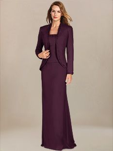 affordable mother of the bride dresses_Berry