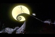 Spiral Hill - The Nightmare Before Christmas