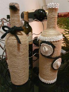 #Bottle#Crafts #DIY #homedecor #WasteBottlecraft #handmade #art #bestoutofwaste Waste Bottle Craft, Bottle Crafts, Viera, Handmade Art, Wine Glass, Diy Home Decor, Projects To Try, Creative, Diy Ideas For Home