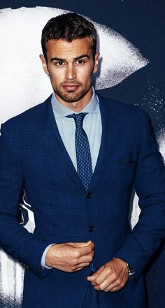 Theo James fashionable look