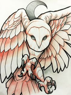 Owl Tattoo Designs and Ideas