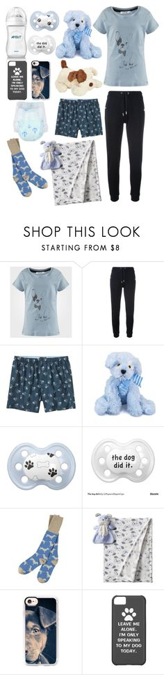 """""""Puppies (cgl, cglre)"""" by transboyfanboy ❤ liked on Polyvore featuring Zoe Karssen, Banana Republic, Jellycat, Catherine Tough and Casetify"""
