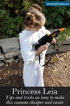 I thought my kids were too old to go along with matching costumes this year, but they surprised me. G– was planning on being Minnie Mouse, but B– really wanted her to be Princess Leia to match his...