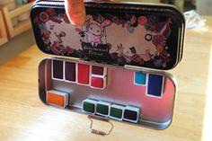 "Watercolor Tin (paint pans, magnets, & ""tin"")"