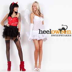 Enter our Sweepstakes for a chance to win a $1000 shopping spree from Heels.com! #heeloween