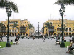 Plaza de Armas -Centro de Lima