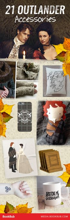 21 Outlander accessories that would make perfect gifts.