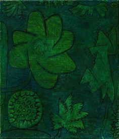 Paul Klee - Deep in the Wood, 1939