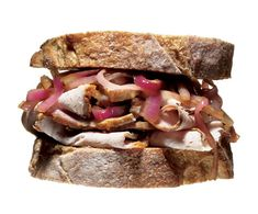 This is from Men's Health - 25 Gourmet Sandwiches for Guys