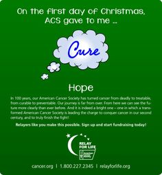Relay days of Christmas