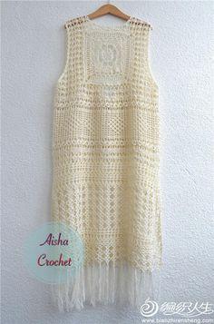 Fabulous Crochet a Little Black Crochet Dress Ideas. Georgeous Crochet a Little Black Crochet Dress Ideas. Crochet Bodycon Dresses, Black Crochet Dress, Crochet Skirts, Crochet Blouse, Crochet Shawl, Crochet Bikini, Crochet Top, Popular Crochet, Unique Crochet