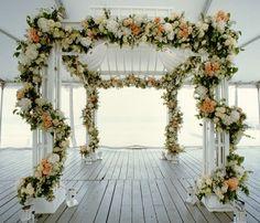 Lindo para um casamento ao ar livre by Preston Bailey