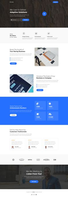 Buy Astron - Business Unbounce Landing Page Template by Morad on ThemeForest. Astron is Business Unbounce Landing Page Template. You will get Unbounce Landing Page Template with 6 months support. Website Layout, Web Layout, Landing Page Inspiration, Website Design Inspiration, Ui Inspiration, Page Template, Website Template, Templates, Business Web Design