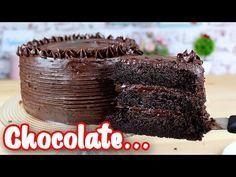 Bolo de Chocolate   O Melhor Bolo de Chocolate do Mundo   Molhado, Macio, Sabor Intenso a chocolate - YouTube