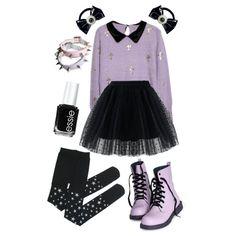 Here is Pastel Goth Outfit Idea for you. Pastel Goth Fashion, Kawaii Fashion, Lolita Fashion, Cute Fashion, Teen Fashion, Womens Fashion, Pastel Goth Style, Pastel Punk, Pastel Goth Clothes
