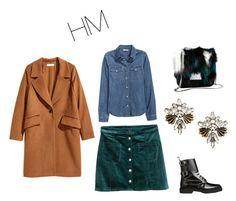 """""""с чем носить короткую юбку"""" by alinaaa87 on Polyvore featuring мода, H&M и Balmain"""