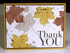 Magnificent Maple Stampin Up! Créations Habsgirl22