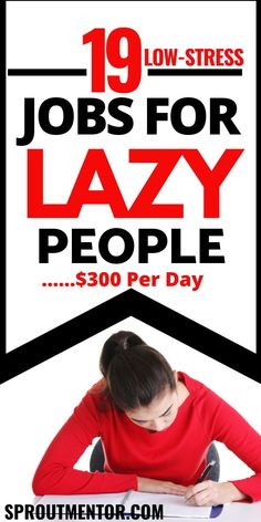 Are you a lazy person looking for ways to make money online during your spare time? Check out these online jobs for lazy people who want to work from home and still make extra cash on the side.