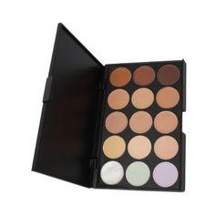 Amazon.com : Professional 15 Color Concealer Camouflage Makeup Palette : Face Powders : Beauty