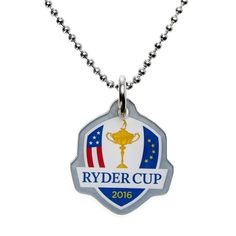 2016 Ryder Cup Dog Tag Necklace - Steel