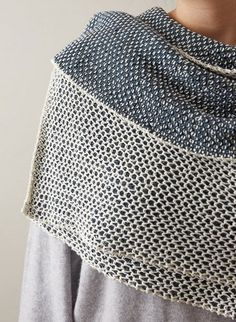 Each side of this wrap looks totally different! Add some versatility to your closet with this ultra-textured reversible reversible wrap.