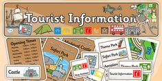 Tourist Information Role Play Pack-tourist information, role