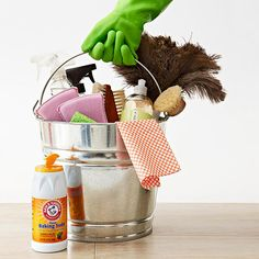 10 tips for speed cleaning your home.  (my favorite: get help)