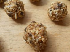 Energy Balls Healthy Toddler Snacks