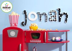 Kid rooms letters