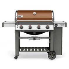 Weber Genesis II SE-410 Special Edition Freestanding Propane Gas Grill - Copper