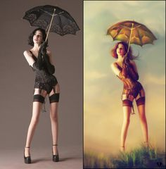 photoshop before and after fantasy - Google Search