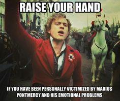 Enjolras has no time for your emotional problems, Marius!