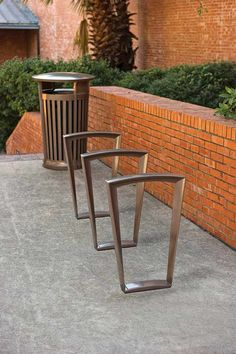 Landscape Forms · Bicycle RackEmersonUrban FurnitureStreet ...
