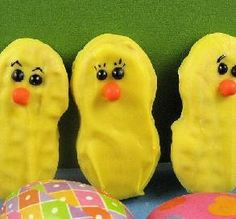 Nutter Butter Easter Chicks