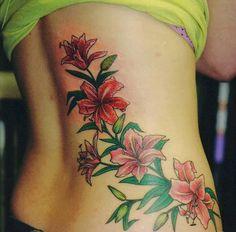 11 Tatuagens de flores lindas | Meninas de Tatuagens