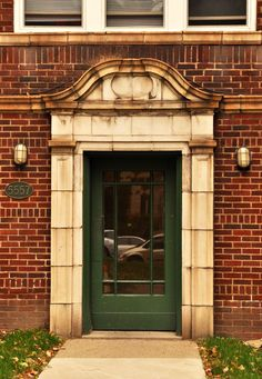 Entry to Hobart Court Apartments in Squirrel Hill
