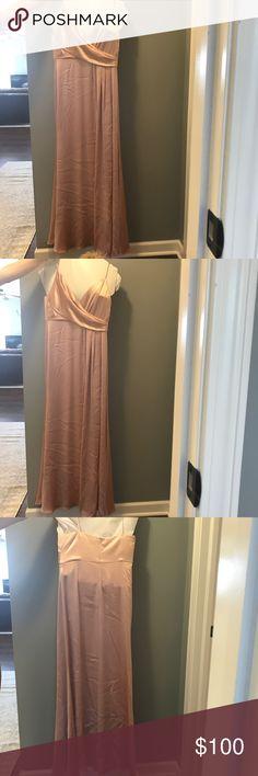 Jill Jill Stuart Crossover Slip Gown 100 Exclusive Prom