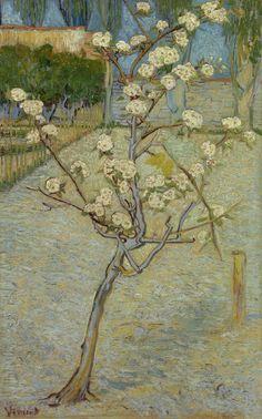 1888 Van Gogh Small Pear Tree in Blossom(Van Gogh Museum Amsterdam)ultra HD