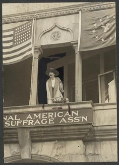 In 1916, Jeannette Rankin was elected to the House of Representatives, becoming the first U.S. congresswoman #womenshistory