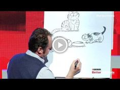 "Full-Length: Cartoonist Simon Tofield: The Art and Inspiration Behind ""Simon's Cat"""